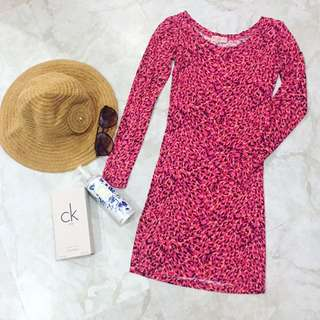 Chic Printed Dress