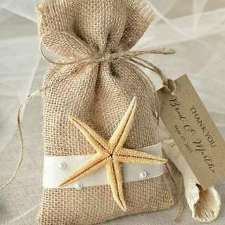 *INSTOCKS - Burlap Gift Bag Pouch