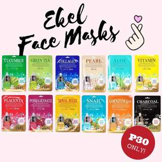 EKEL Facial masks