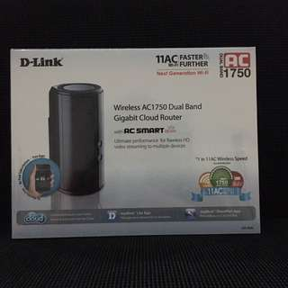 BRAND NEW wireless AC1750 dual band gigabit cloud router