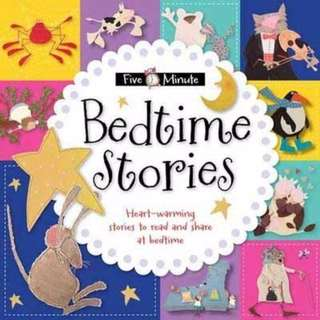 (STR-MB-FIVEBED) Five-Minute Bedtime Stories - Heart warming stories to read and share at bedtime (8 Stories)