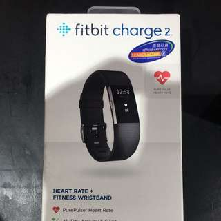 Fitbit Charge 2 黑色 L碼