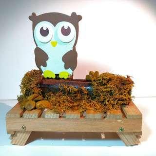 Owl Party Table Centrepiece Decoration