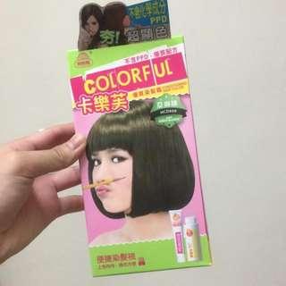 卡樂芙染髮劑 亞麻綠