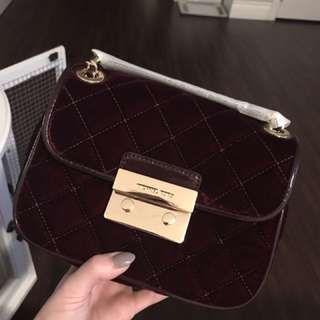 Michael Kors Velvet Purse BNWT