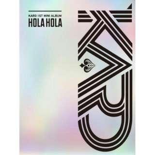 [PO] KARD - 1ST MINI ALBUM HOLA HOLA