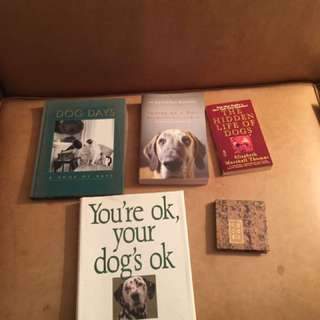 Dog Books - Some Bestsellers