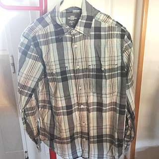REPRICE! H&M Male Checked Shirt