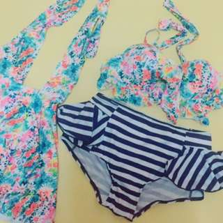 三件式泳衣