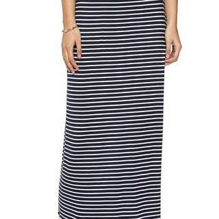 Cotton On Stiped Maxi Skirt / Rok Panjang
