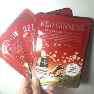 Red Ginseng Sheet Mask