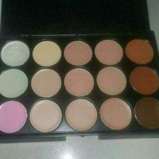 15 Palette Concealer