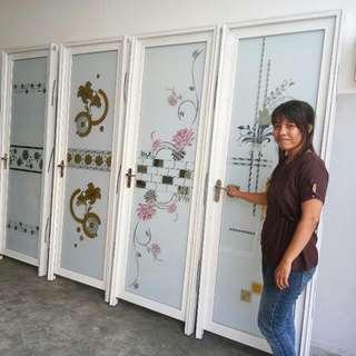 Pintu Allumunium