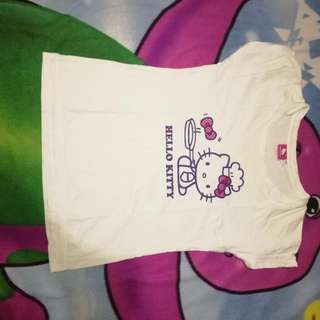 Authentic Hello Kitty shirt👌.... PM ME FOR MOR DETAILS