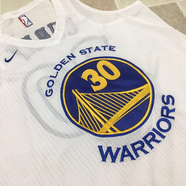 #30 Curry Warriors Authentic jersey