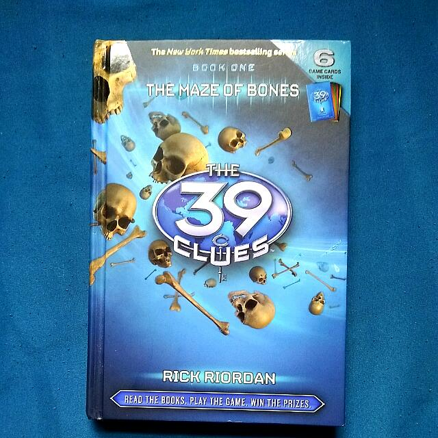 """39 Clues Book One"""