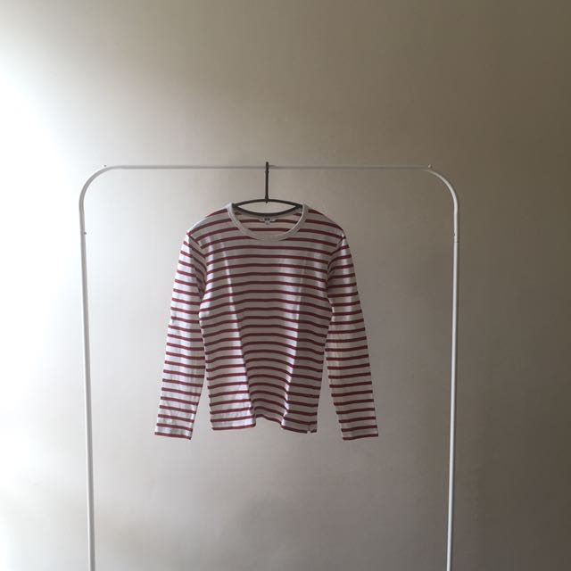 70% OFF - UNIQLO STRIPED LONGSLEEVES (20008)