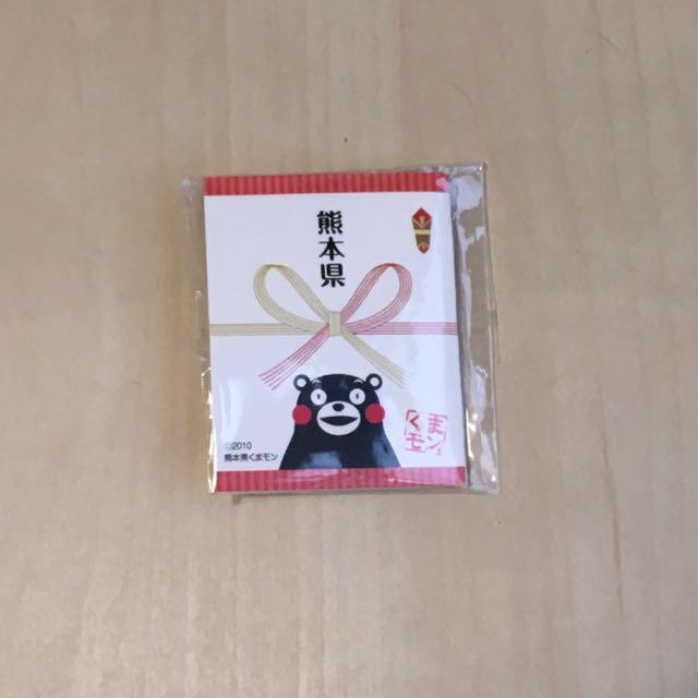熊本熊徽章