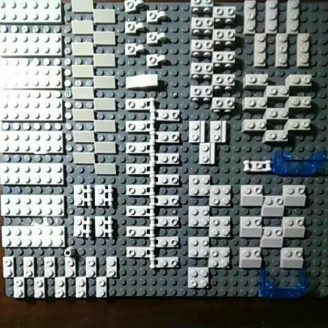 #玩具交換玩 #交換最划算 積木散件 零件 特殊件 擋風玻璃 混合款樂高式積木 可與 LEGO 磚相容 moc專用