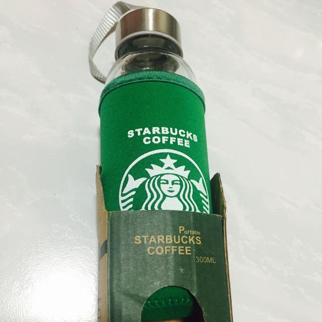 星巴克 STARBUCKS 玻璃瓶 300ml