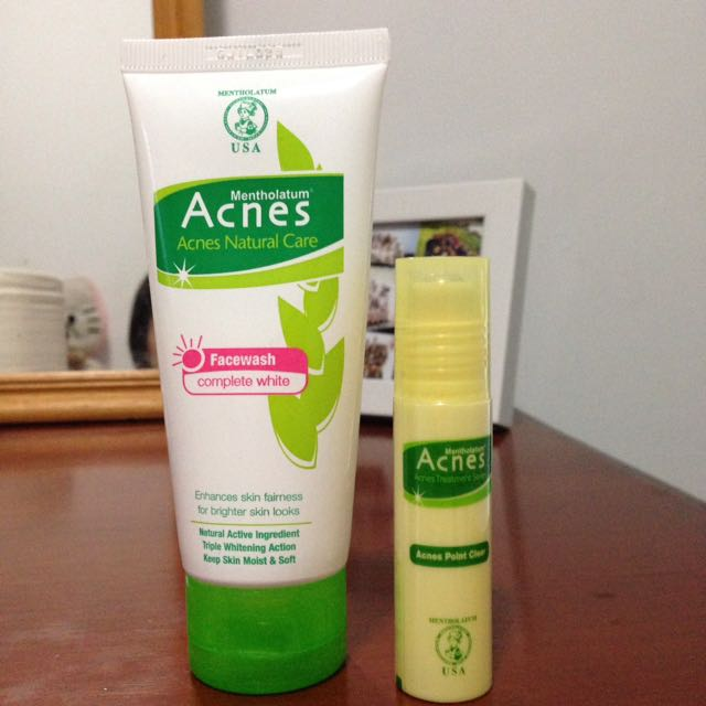 Acnes Facewash And Point Clear