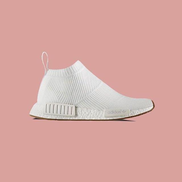 462dd3960 Adidas NMD CS1 City Sock White Gum PRIMEKNIT Size US 9.5   UK 9 ...