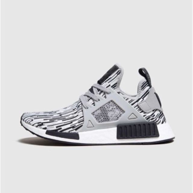 big sale a6e00 07cbb Adidas NMD XR1 Oreo PK Grey Glitch Zebra, Men's Fashion ...