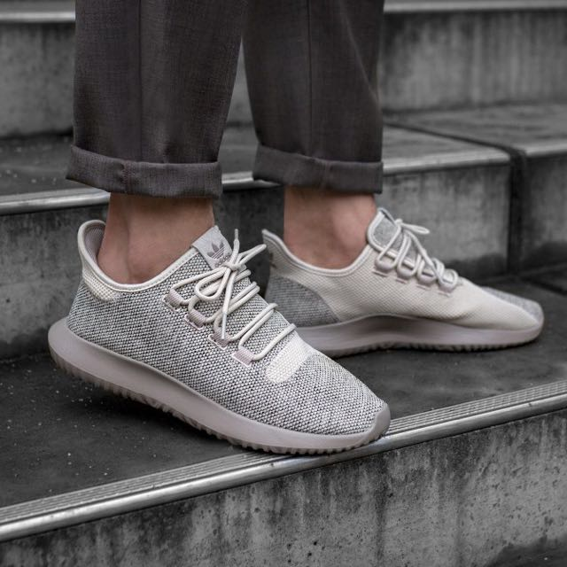 Adidas Tubular Shadow Knit Men S Fashion Footwear On Carousell