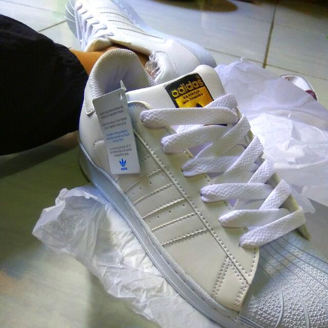 Reprice!! Turun Harga!! Adidas White Superstar    Adidas Superstar    Sepatu Adidas
