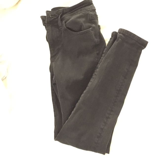 AEO Black Hi-rise Jegging