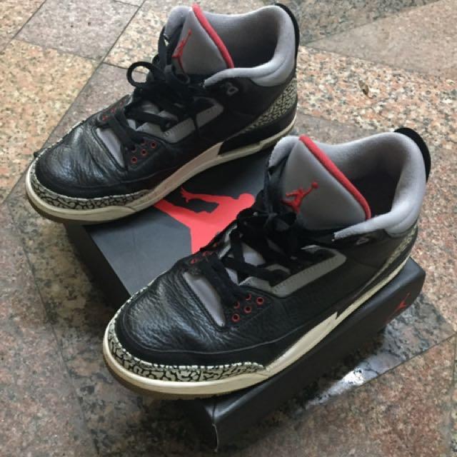 Air Jordan 3 黑水泥