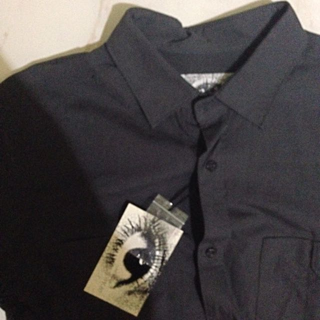 (M) Alpha60 Black Shirt