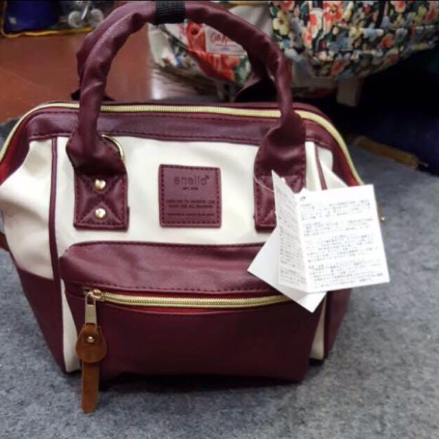 anello mini leather backpack premium