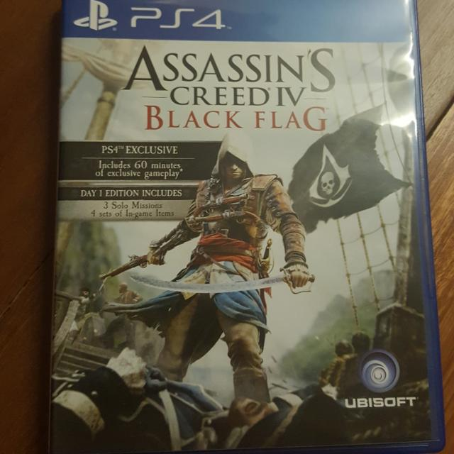 Assassin S Creed Iv Black Flag Ps4 Toys Games Video Gaming
