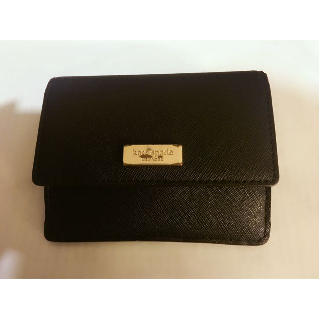 Reduced!!!Authentic Kate Spade Coin/Card/key holder/wallet