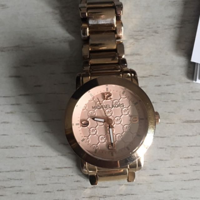 Authentic Michael Kors MK Rose gold Watch