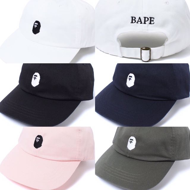168400c4a89f BAPE APE HEAD EMBROIDERY PANEL CAP