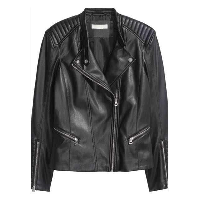LOOKING FOR | Black Leather Jacket