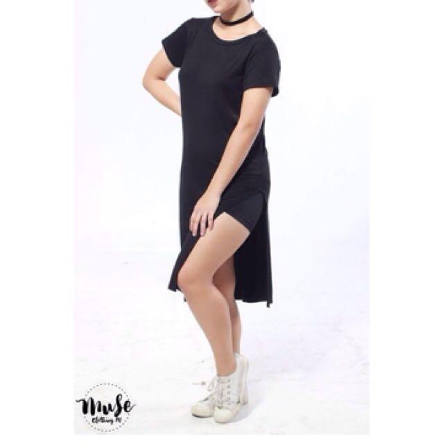 Black Maxi Top