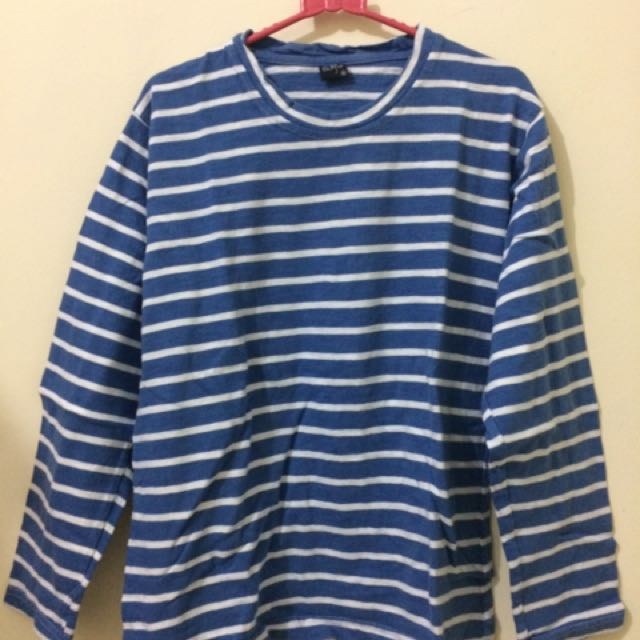 Blue Stripes Top