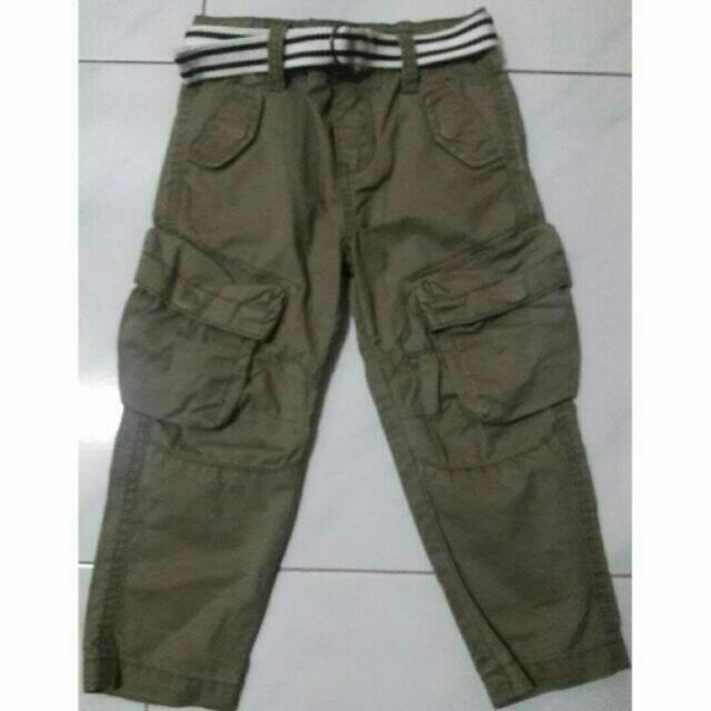 BNWOT JUNIORS CARGO PANTS(24M)