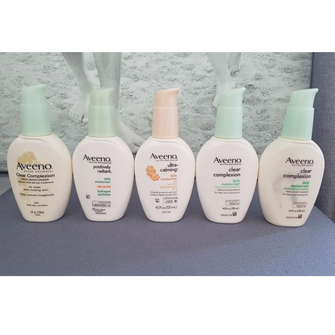BRAND NEW UNUSED - Aveeno Facial Creams - $10 each