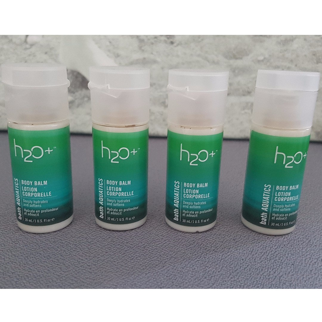 BRAND NEW UNUSED - H20 + Body Balm Lotion Travel Size $2/each