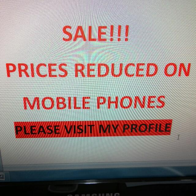 Brandnew Mobile Phones