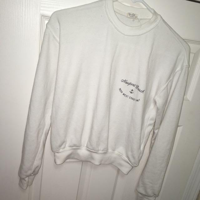 Brandy Melville Newport Beach sweatshirt