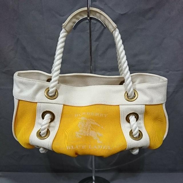 BURBERRY 帆布手提包