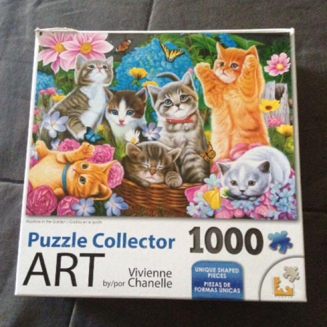 Cat Puzzle 1000pcs