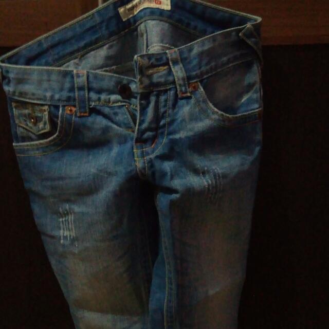 Celana Jeans Sedengkul ,size 26,bgs Bgtt