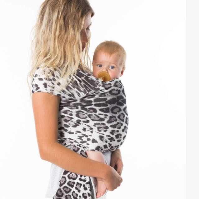 Chekoh Leopard Baby Wrap Carrier Babies Kids Others On Carousell