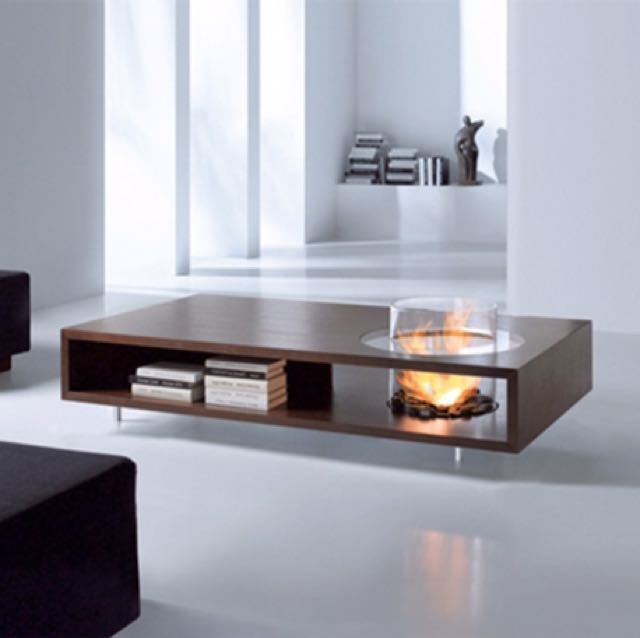 Coffee Table Fire Place